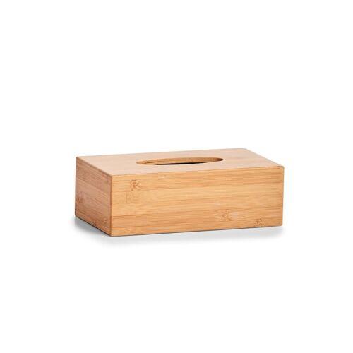 HTI-Living Kosmetiktücher-Box Bambus HTI-Living Braun