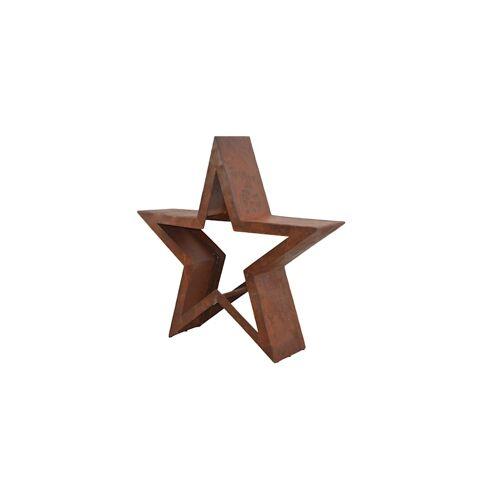 Möbel-Direkt-Online Metalldekoration Stern Möbel-Direkt-Online braun