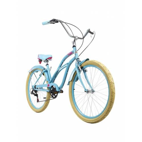 KS Cycling Beachcruiser 26 Zoll Splash 6 Gänge KS Cycling blau