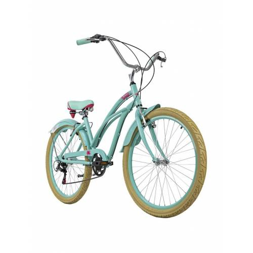 KS Cycling Beachcruiser 26 Zoll Splash 6 Gänge grün KS Cycling grün