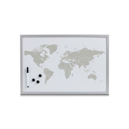 HTI-Living Magnettafel beschreibbar World HTI-Living Grau