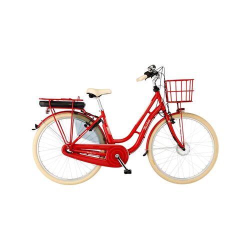 Fischer Fahrrad Pedelec Retro 2.0 FISCHER Fahrrad Rot