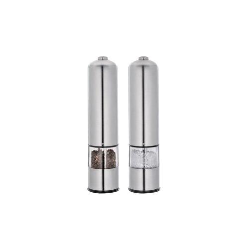 Cilio Pfeffer- und Salzmühle BERGAMO elektrisch Cilio Silber