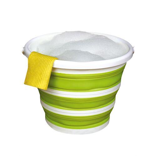 UBTC Faltbarer Eimer UBTC grün/weiß