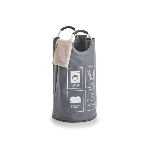 HTI-Living Wäschesammler Flaschensammler HTI-Living Wäschesammler Grau