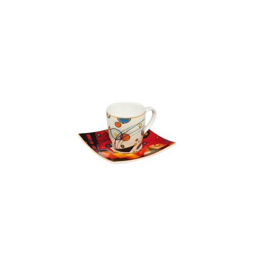Goebel Espressotasse Wassily Kandinsky - Schweres Rot Goebel Kandinsky - Rot