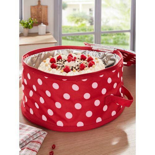 HELU Kuchen-Kühltasche HELU rot/weiß