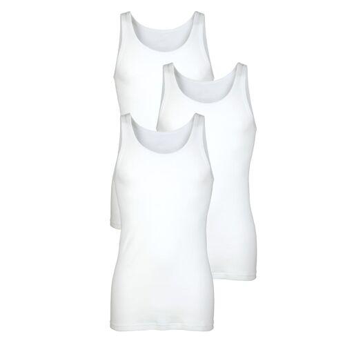 HERMKO Unterhemden HERMKO Weiß