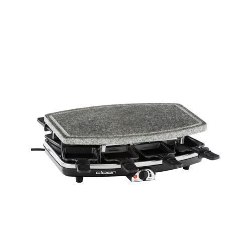 Cloer Raclette Raclettegrill 6430 mit Naturstein Cloer Grau