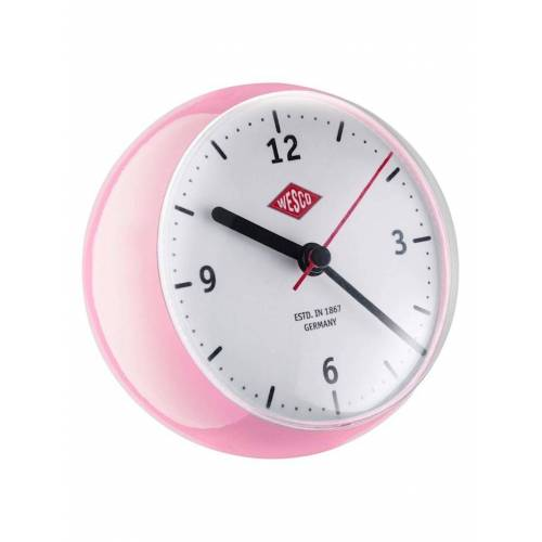 Wesco Mini Clock Mini Clock Wesco Pink