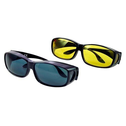 Maximex Tag- und Nacht-Überbrille Maximex schwarz