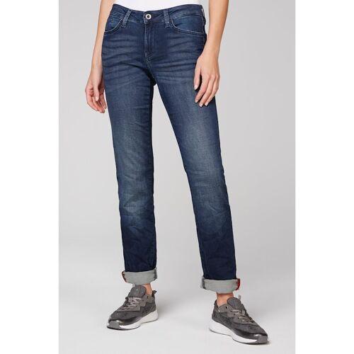 SOCCX Jeans RO:MY aus Sweatmaterial in Denim-Optik SOCCX dark blue jogg