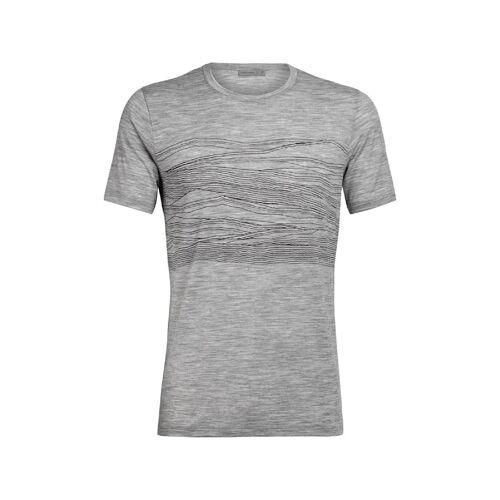 Icebreaker Tshirt Tech Lite 1000 Vistas Icebreaker Grau