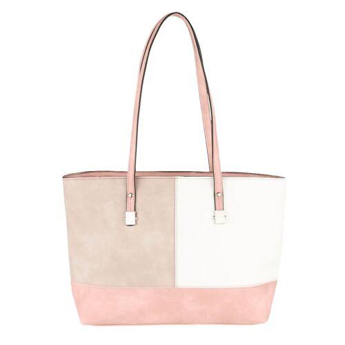 Sina Jo Shopper Sina Jo beige/weiß/rosé