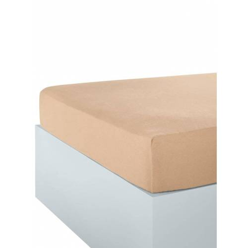 Webschatz Microfaser-Flausch Spannbettlaken Webschatz sand