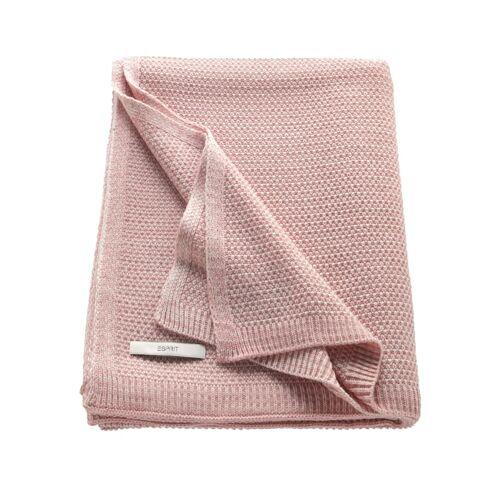 Esprit Plaid 'Knitted' Esprit Rose
