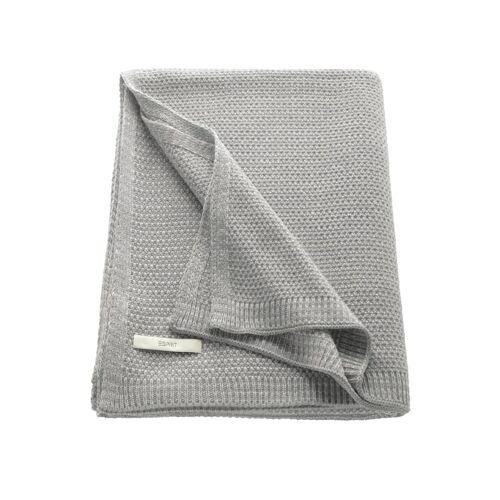 Esprit Plaid 'Knitted' Esprit Grau