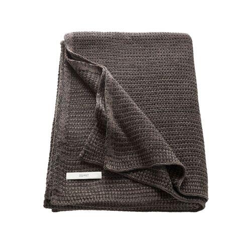 Esprit Plaid 'Knitted' Esprit Braun