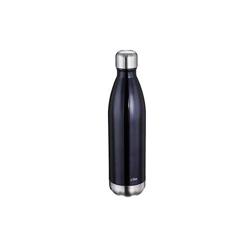 Cilio Isolierflasche ELEGANTE 0,75 Liter Cilio Schwarz