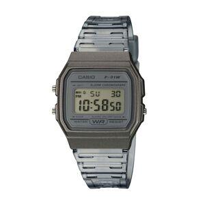 Casio Unisex-Uhr Chronograph Casio Anthrazit