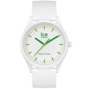Ice Watch Solaruhr Nature M Weiß / Grün Ice Watch Weiß