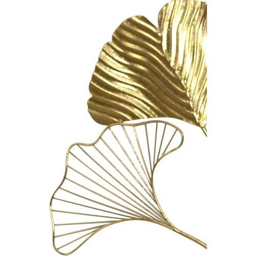 Möbel-Direkt-Online Wanddekoration Ginkgo Möbel-Direkt-Online gold