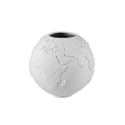 Kaiser Porzellan Vase Globe Kaiser Porzellan weiß
