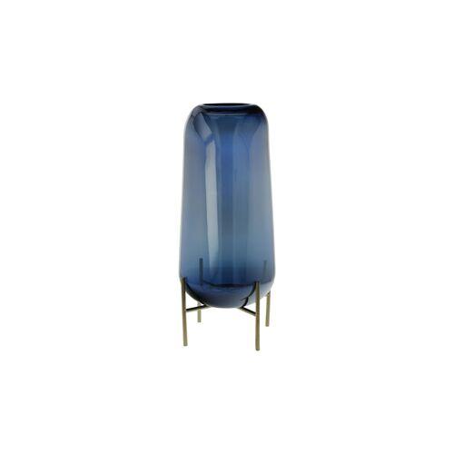 Goebel Vase Deep Ocean Goebel Blau
