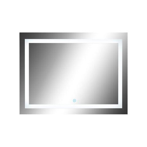 HOMCOM LED Lichtspiegel HOMCOM silber