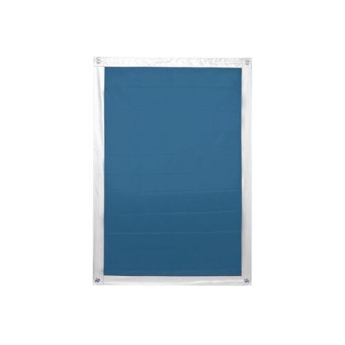 Lichtblick Sonnenschutzsysteme Dachfenster Sonnenschutz Haftfix, ohne Bohren Lichtblick Sonnenschutzsysteme Blau