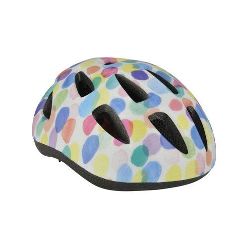 Fischer Fahrrad Helm Fahrradhelm Kinder Colours FISCHER Fahrrad weiß