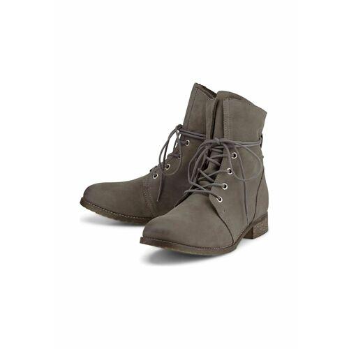 COX Schnür-Boots Schnür-Boots COX dunkelgrau