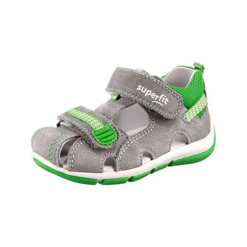 myToys-COLLECTION Baby Sandalen WMS Weite M4 für Jungen myToys-COLLECTION grau/grün