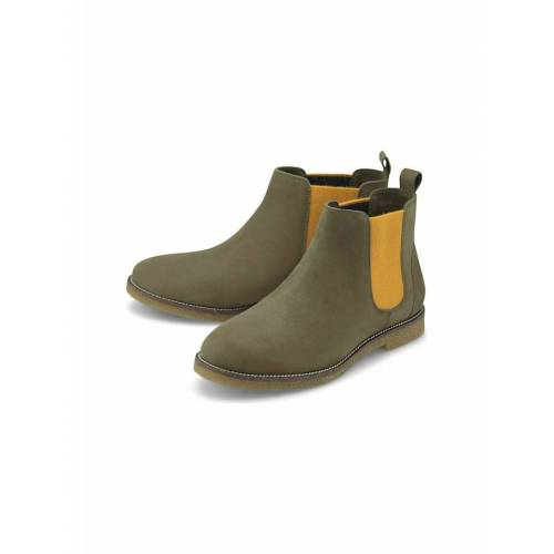 COX Chelsea-Boots Chelsea-Boots COX khaki