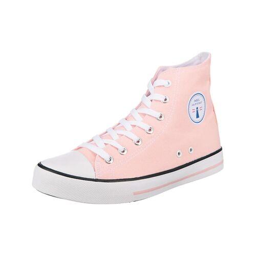 inselhauptstadt Allround City Sneaker High inselhauptstadt rosa