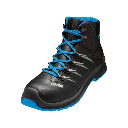 Uvex Sicherheitsstiefel uvex 2 trend Stiefel S3 SRC uvex schwarz/blau