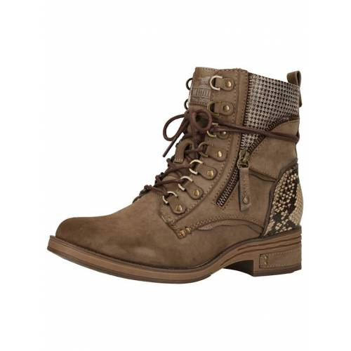 Mustang Stiefelette Mustang Stiefelette Mustang Taupe