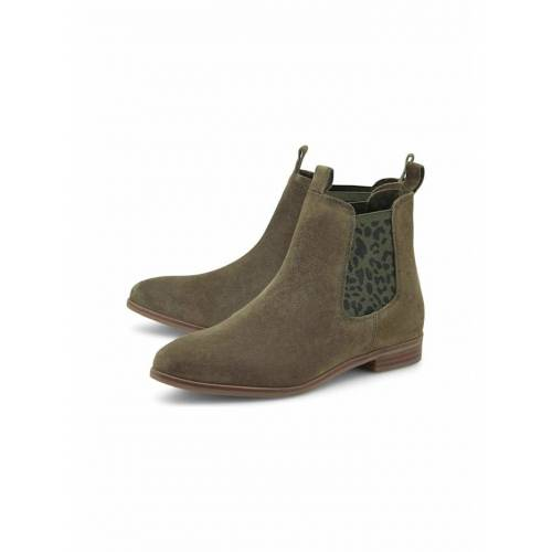 COX Chelsea Boots Chelsea-Boots COX khaki