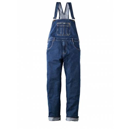 men plus Jeans-Latzhose Men Plus Blue stone