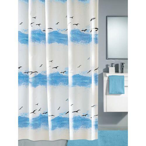 """Kleine Wolke Duschvorhang """"Himmel"""" Kleine Wolke blau/weiß"""