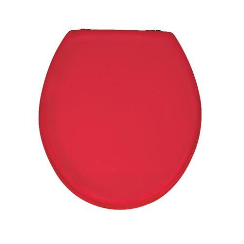 Wenko WC-Sitz Prima Rot, MDF Wenko Rot