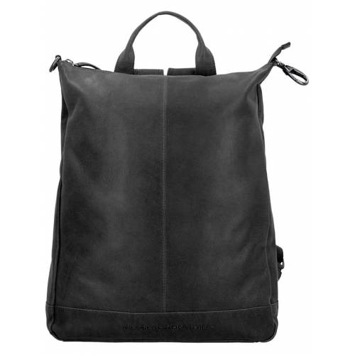 The Chesterfield Brand Wax Pull Up Manchester Rucksack Leder 40 cm The Chesterfield Brand zwart