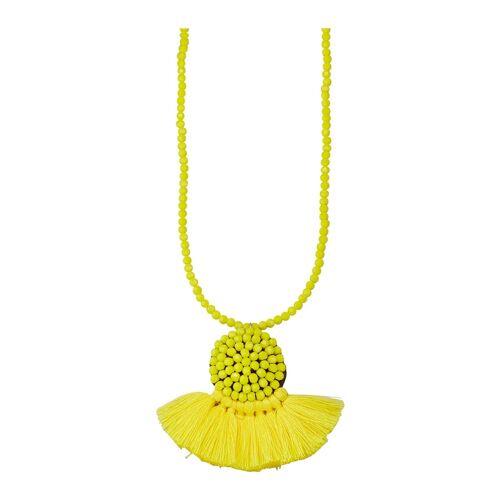 KLiNGEL Halskette mit Kristallen KLiNGEL Gelb