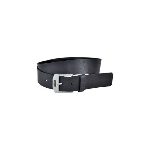 Levis belt Gürtel Ledergürtel Legend Black Schwarz 219406 Levi's Regular Black