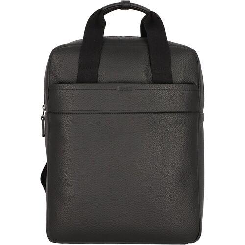 Bree Aiko 4 Rucksack Leder 39 cm Laptopfach Bree black
