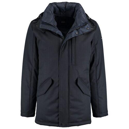 DNR Jackets Herren Parka mit Steppfutter und praktischen Taschen DNR Jackets Dark Blue