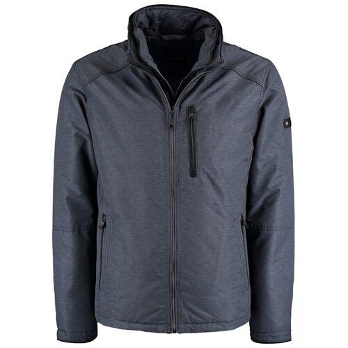 DNR Jackets Herren Blouson mit Doppeloptik und praktischen Taschen DNR Jackets Grey