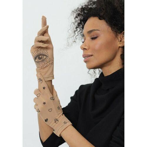 BRIKOLY Handschuhe mit Augen BRIKOLY hautfarben