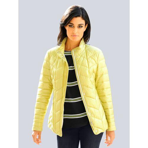 alba moda Steppjacke Alba Moda Zitronengelb