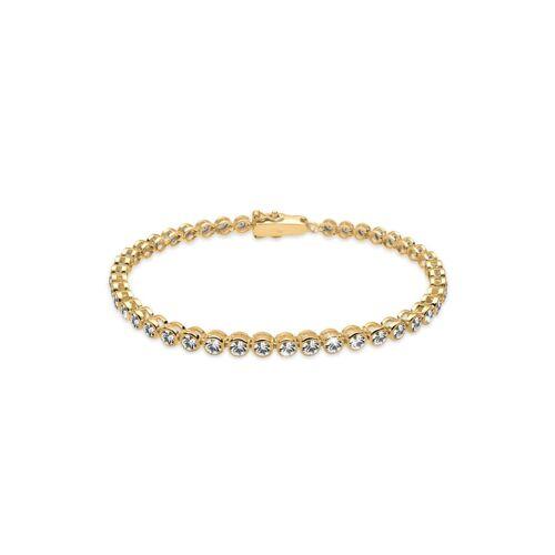 Elli Armband Tennis-Armband Kristalle 925 Silber Elli Gold